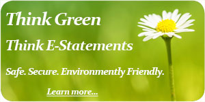 Think Green, Think e-Statements